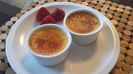 Creme Brulee Who needs a diet