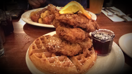 Chicken & Waffles @ Screen Door, Portland, OR.
